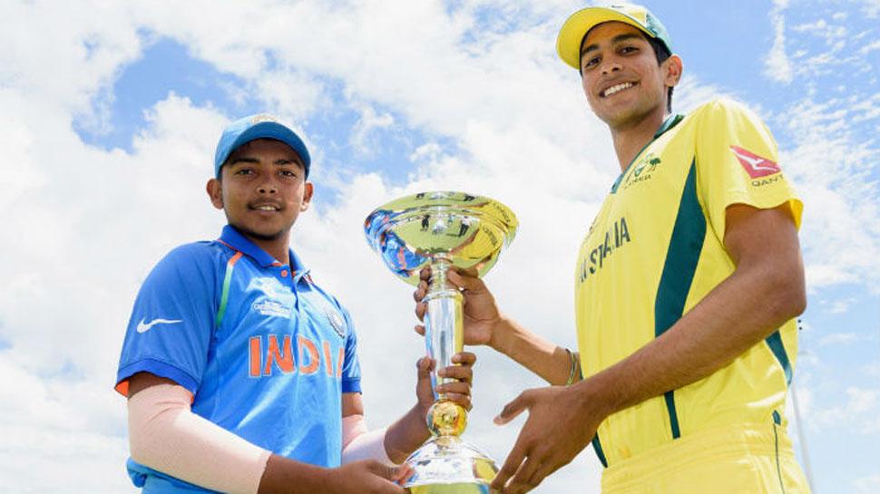 ICC U19 CWC ,Ind vs Aus : Australia win toss, opt to bat against India