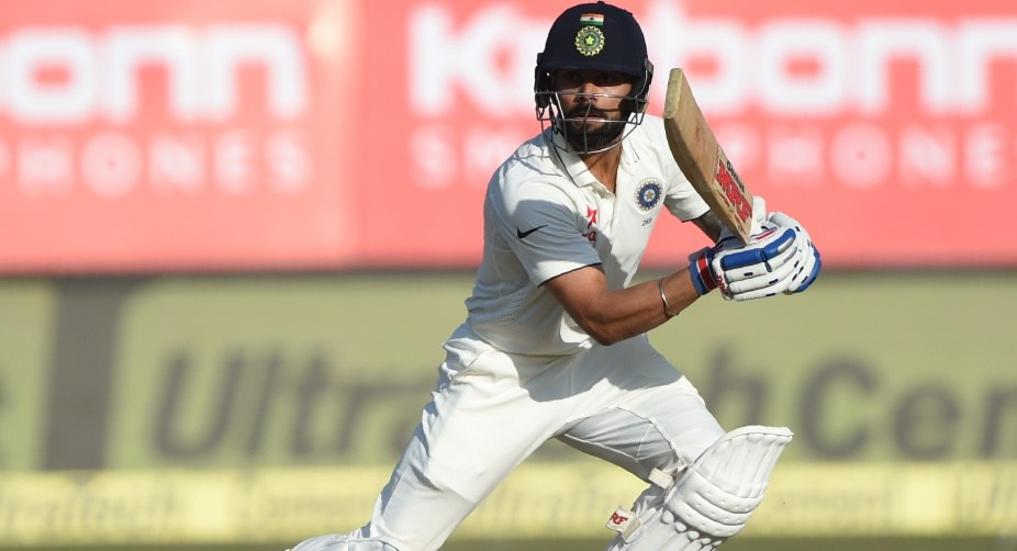 India 251 for five against Sri Lanka in the 2nd innings at lunch on final day