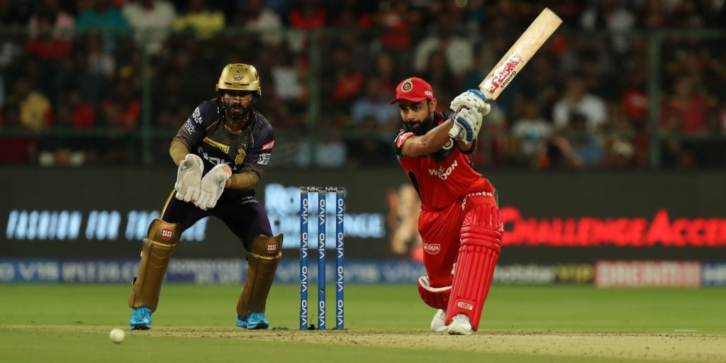 RCB beat KKR by 10 runs in IPL match