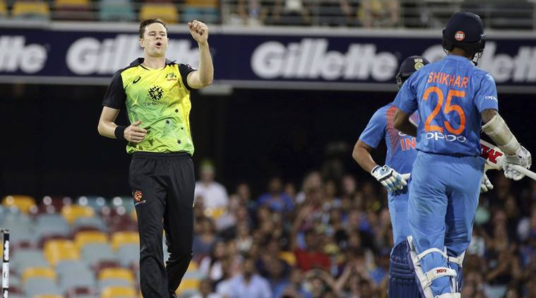 Australia beat India by 4 runs in first T20 match in Brisbane