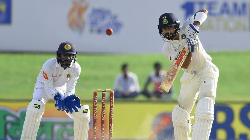 Kohli cracks scintillating century as India set Sri Lanka 550-run target