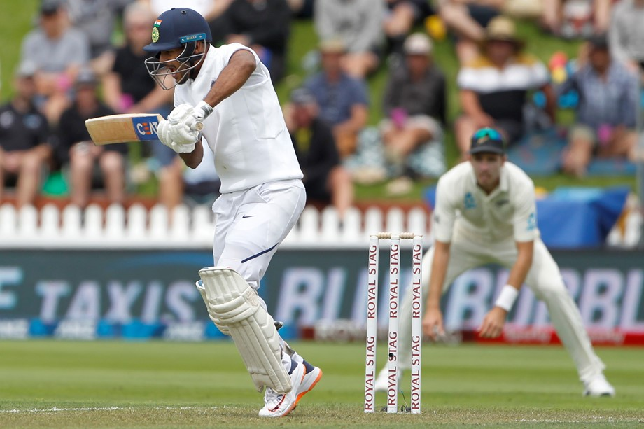 1st Test match: India scored 122 for 5 at tea against New Zealand