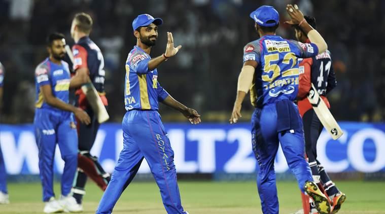 IPL 2018: Rajasthan Royals beat Delhi Daredevils by 10 runs