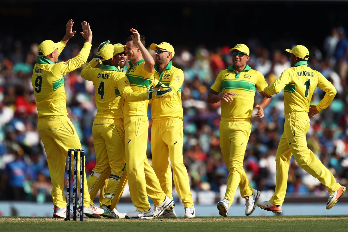 Australia beat India by 34 runs in first ODI