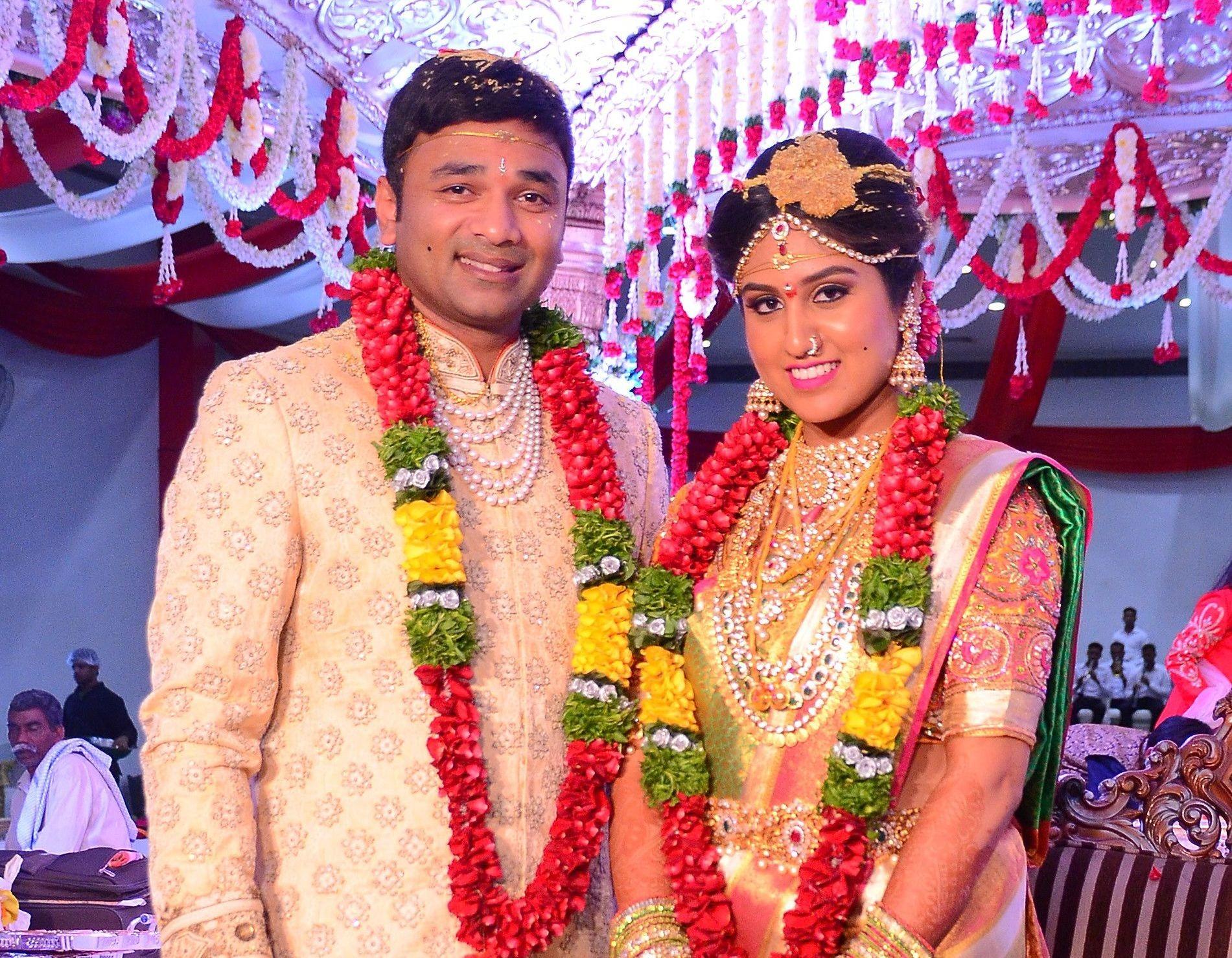 T Suman-Julaiikha reception at Park Hyatt in Hyderabad