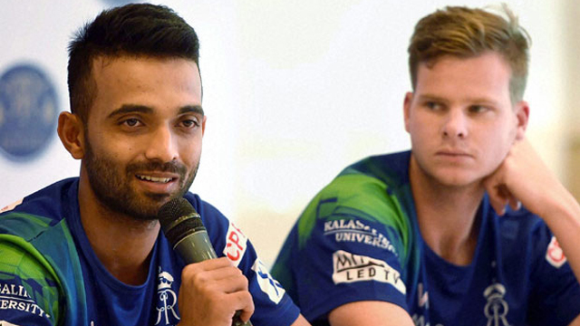 Rahane to lead Rajasthan Royals in the 11th edition of IPL