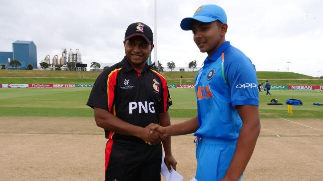 India beat Papua New Guinea by 10 wickets in U-19 World Cup