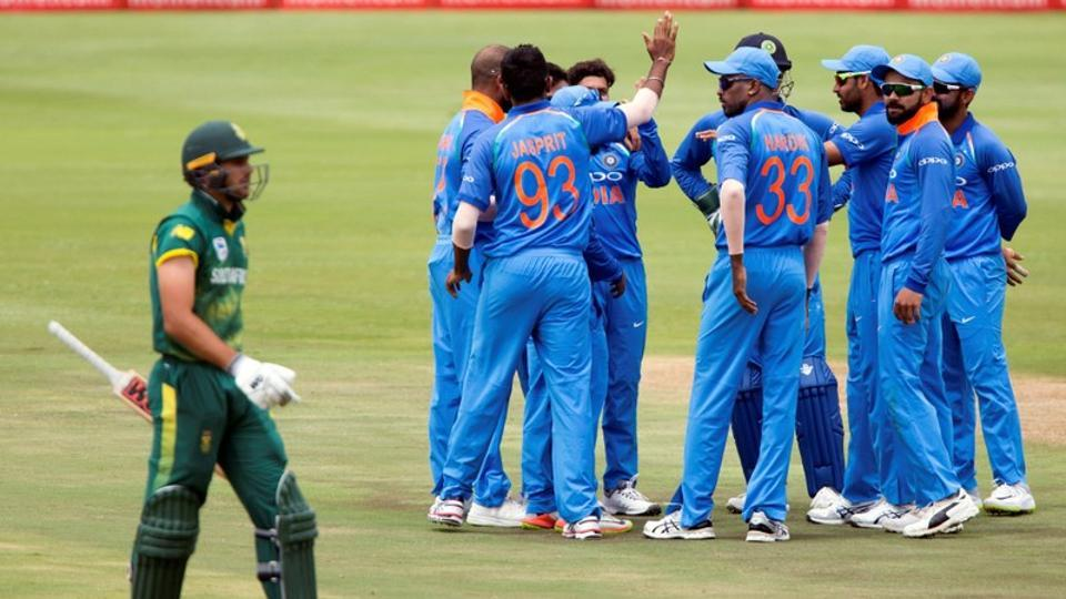 India beat South Africa by 124 runs in 3rd ODI at Cape Town