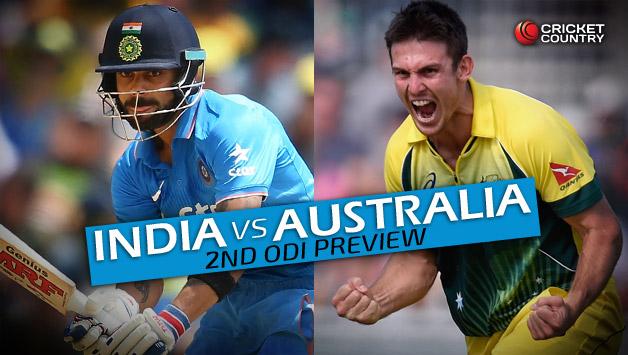 2nd ODI: India to take on Australia in Kolkata today