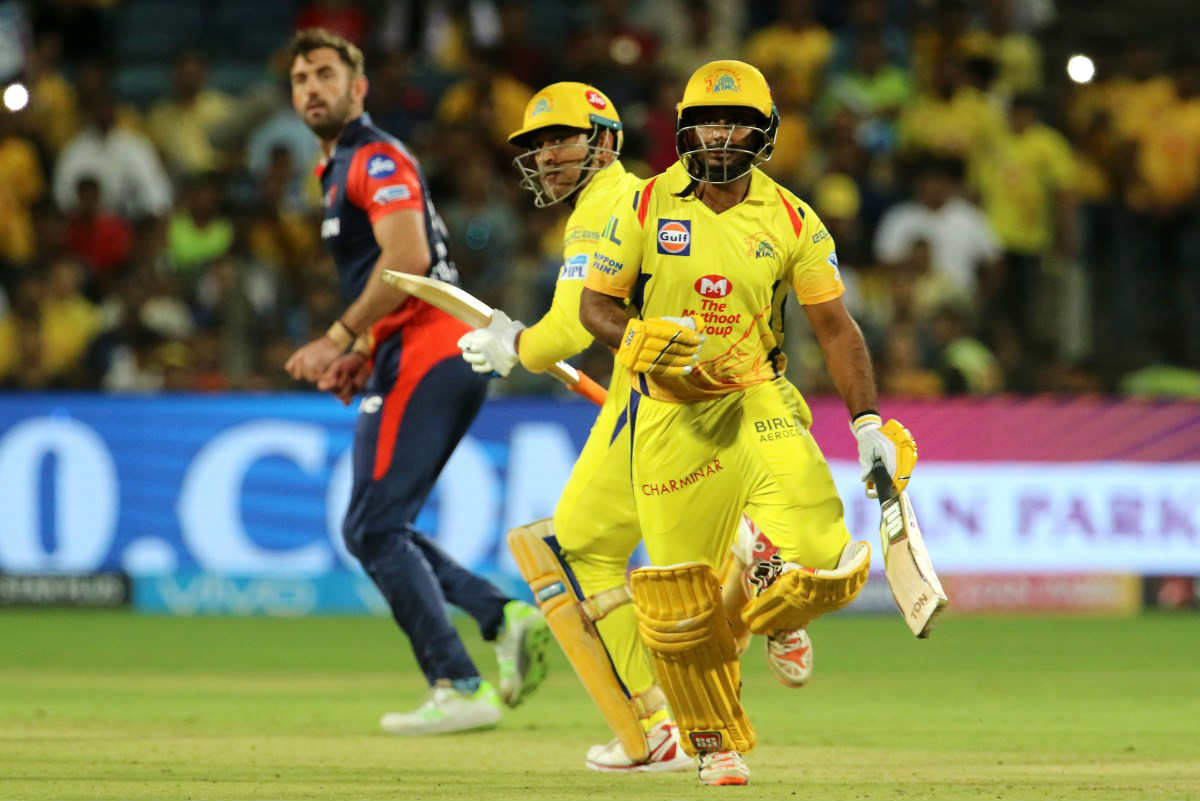 IPL 2018: Chennai Super Kings defeat Delhi Daredevils by 13 runs in Pune