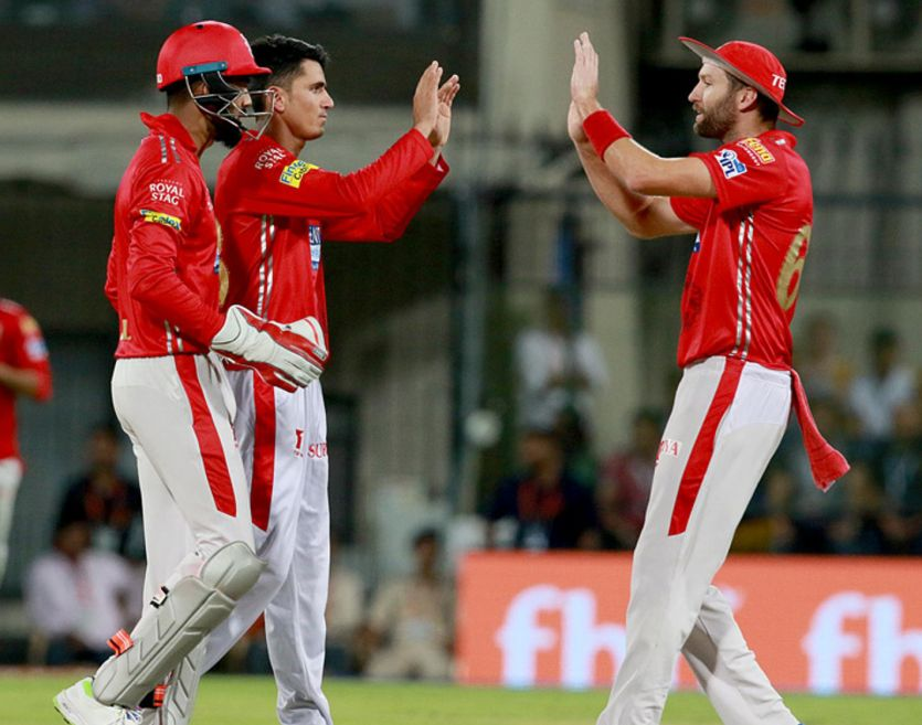 Kings XI Punjab beat Rajasthan Royals by six wickets