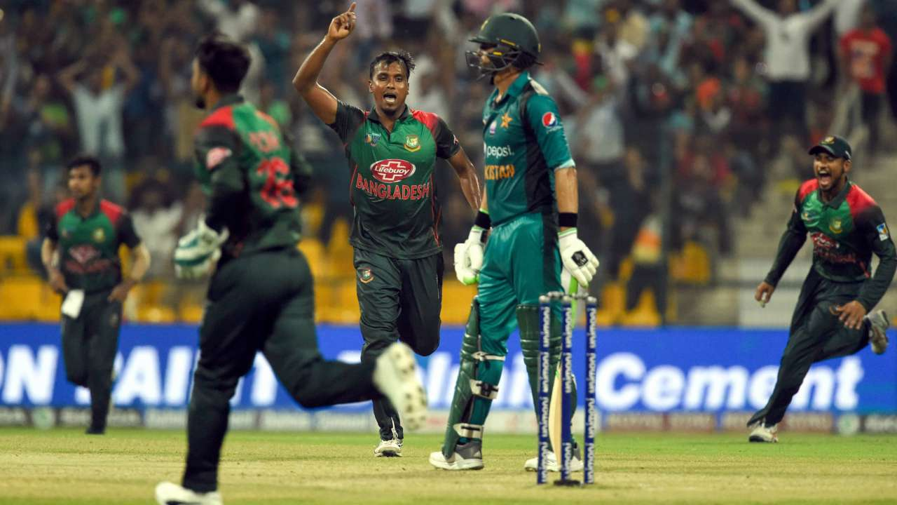 Asia Cup 2018: Bangladesh beat Pakistan by 37 runs to enter final of Asia Cup