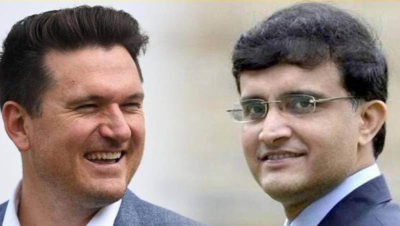Graeme Smith suggests idea of Sourav Ganguly to be next president of ICC