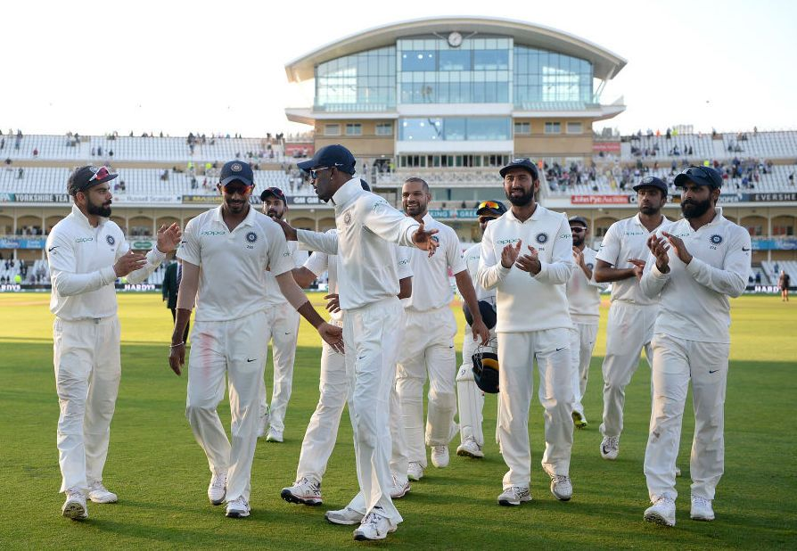 India beat England by 203 runs in 3rd Cricket Test