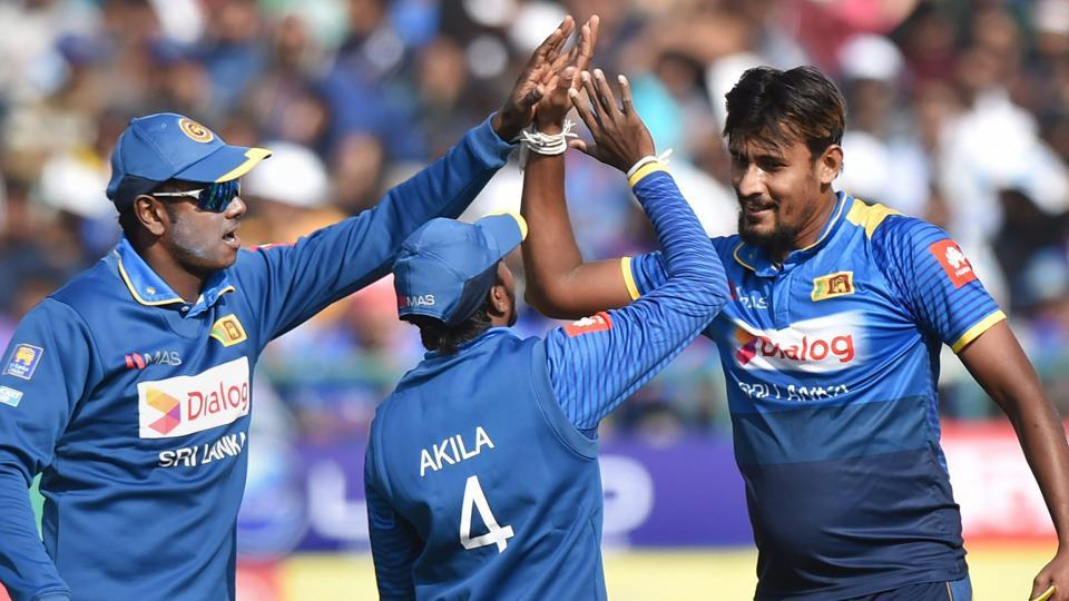 Sri Lanka beat India by seven wickets in first ODI at Dharamsala