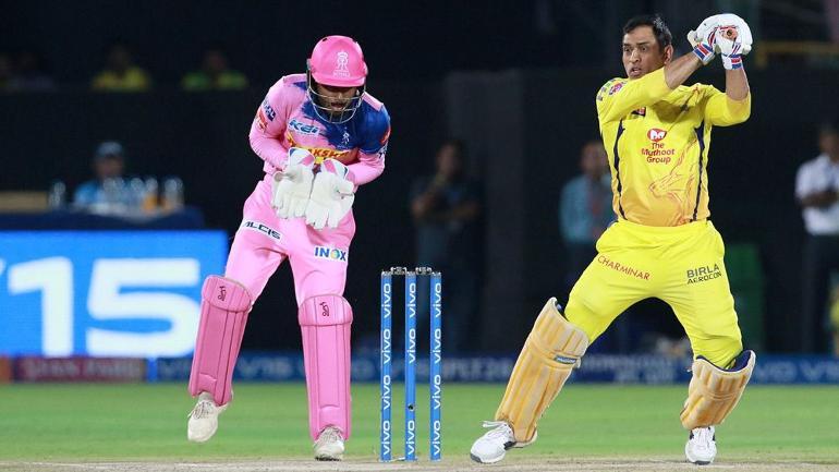 Chennai Super Kings beat Rajasthan Royals by four wickets in IPL match