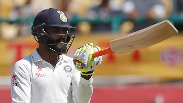 Jadeja helps India take 32-run lead in first innings against Australia