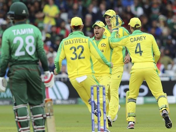 Australia beat Bangladesh by 48 runs in ICC World Cup