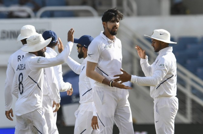 India set 468 run victory target for West Indies in 2nd Test match