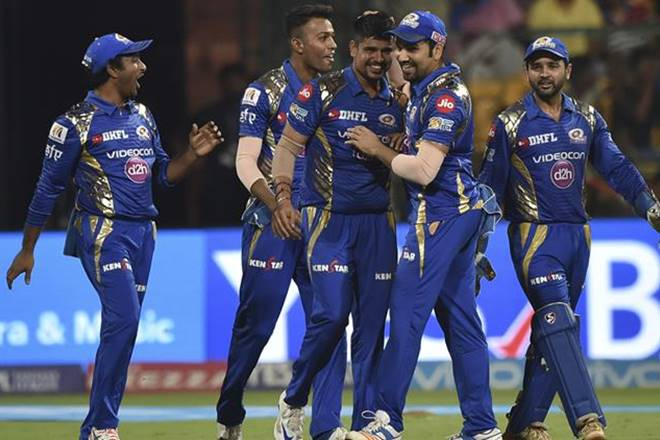 Mumbai Indians beat Kolkata Knight Riders by 6 wickets to enter the final of IPL