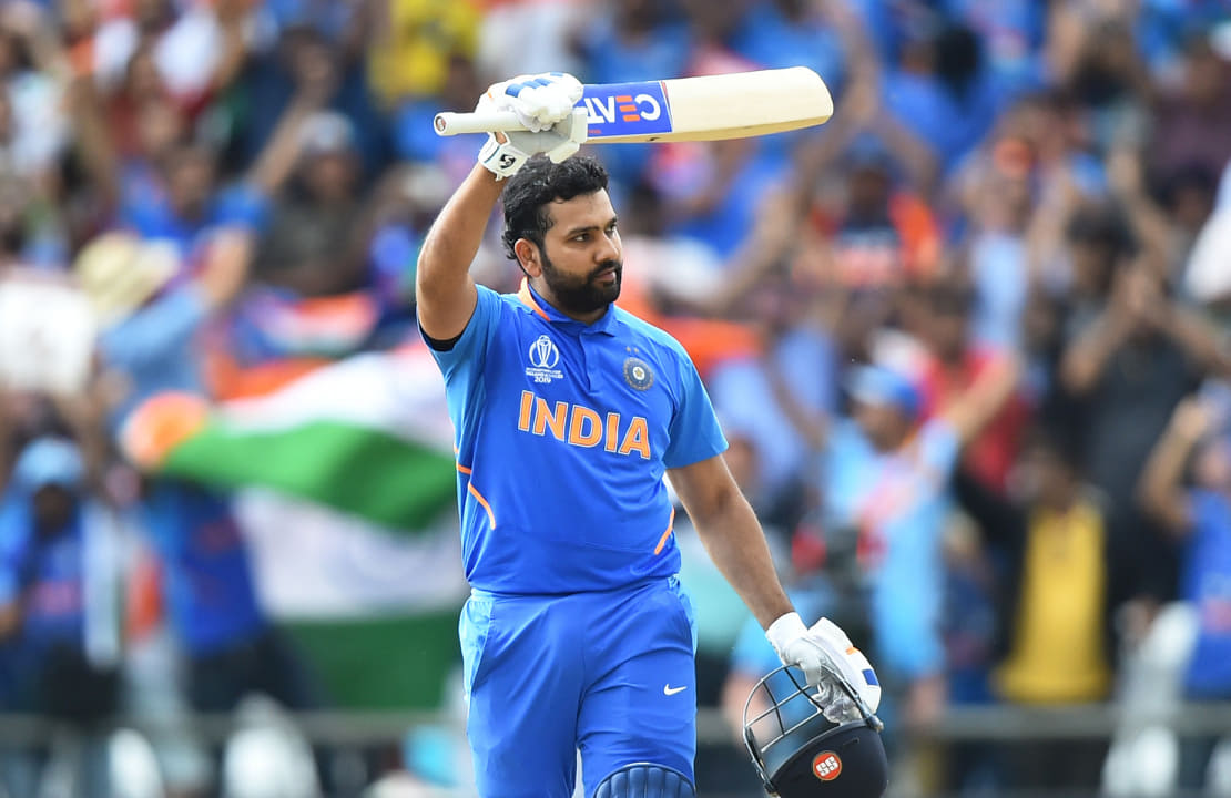 Rohit 27 runs away from eclipsing Sachin