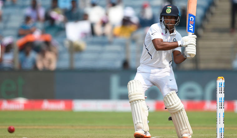 Opener Mayank Agarwal races to 86 as India reach 168/2 at tea vs South Africa