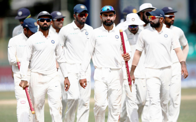 India tops latest ICC Test rankings
