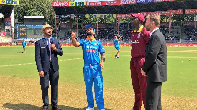 West Indies win toss, elect to bat against India in 5th ODI in Thiruvananthapuram