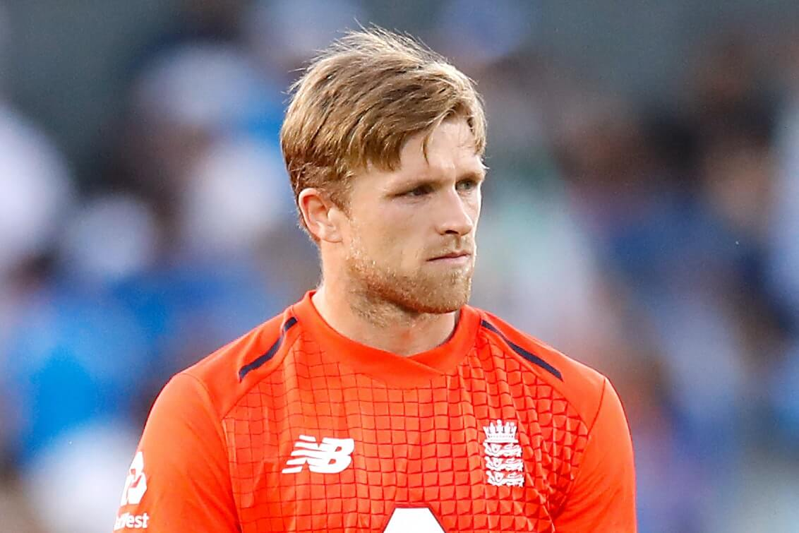England all-rounder David Willey found COVID-19 positive