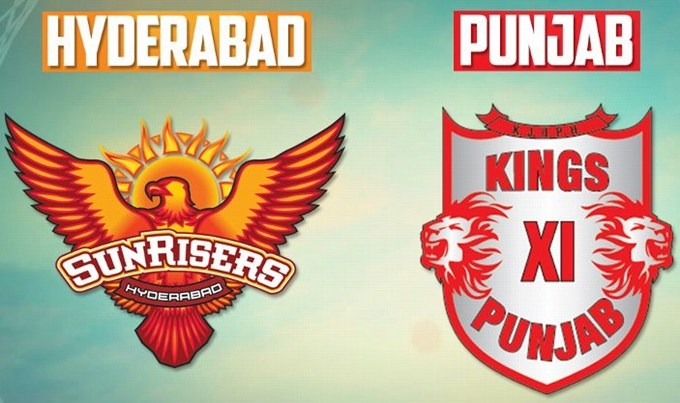 Kings XI Punjab to take on Sunrisers Hyderabad today