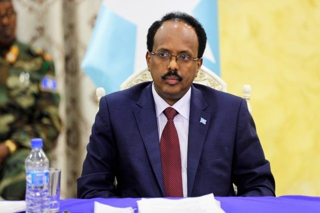 Somali President Mohamed Abdullahi Mohame urges calm after clashes in disputed north