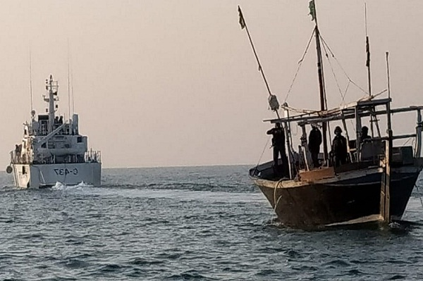 Eight Pakistani nationals apprehended within Indian waters off Jakhau coast in Gujarat