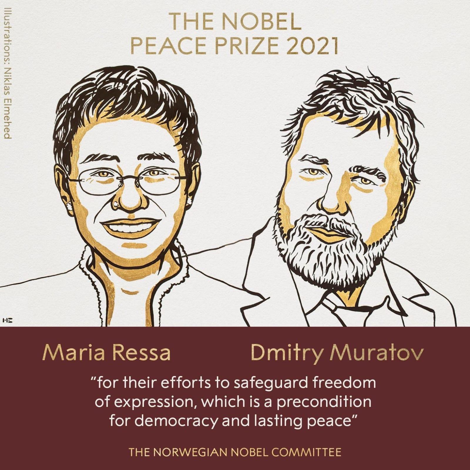 Noble Peace Prize 2021