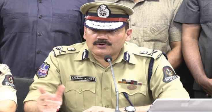 Prohibitory orders in Hyderabad on April 11