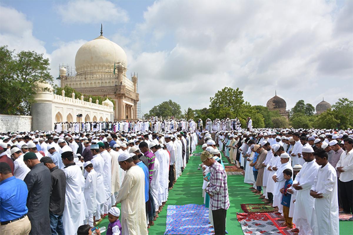 Prayers, festivities mark Eid-Ul-Fitr