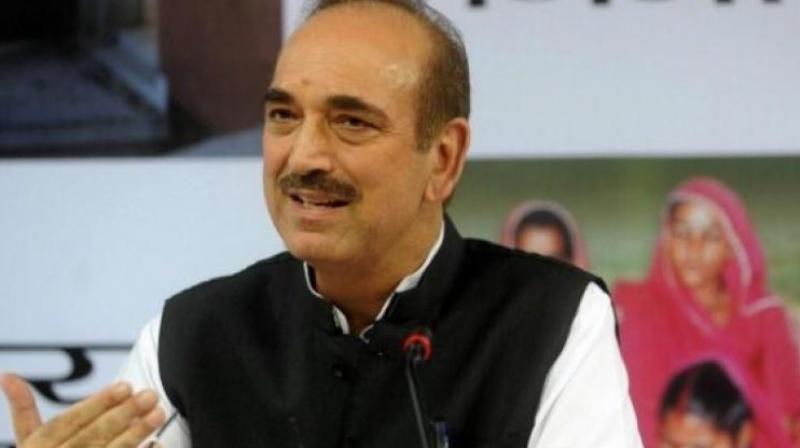 Ghulam Nabi Azad to visit Hyderabad today