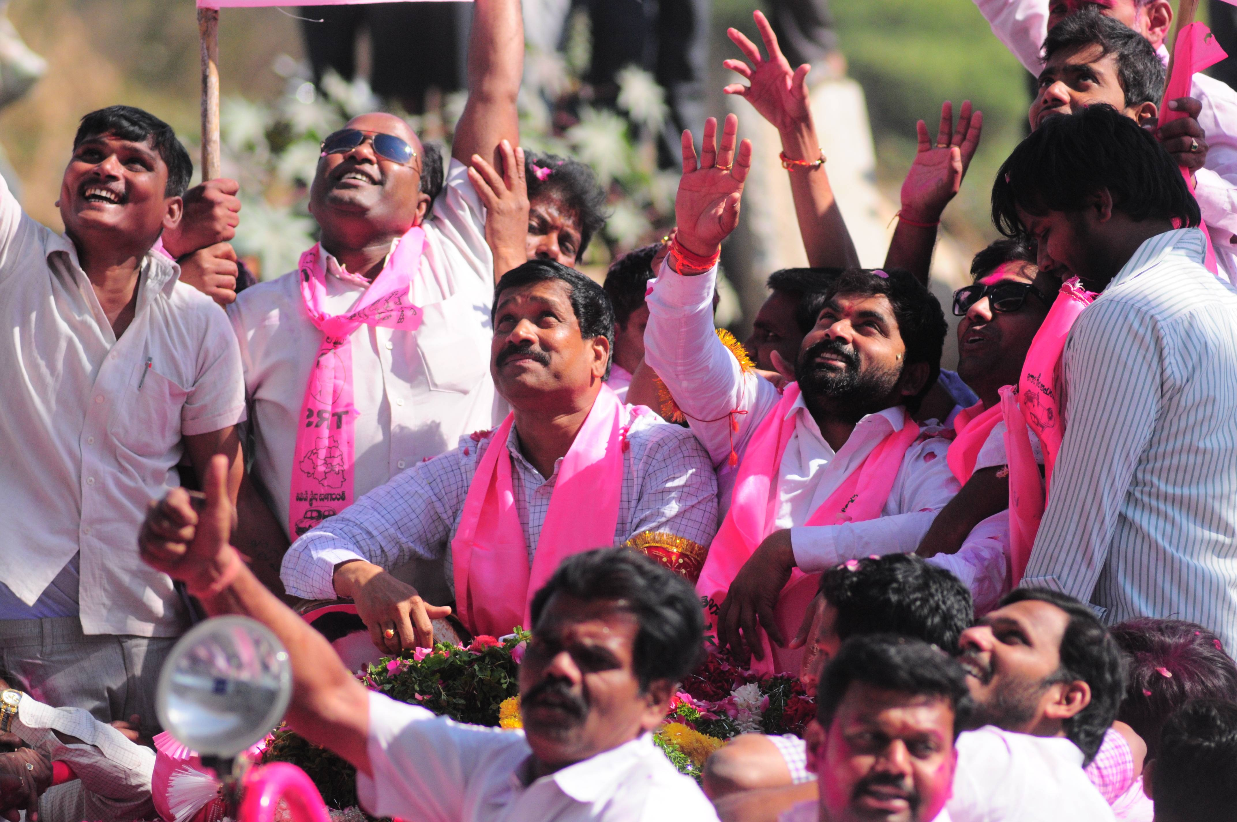 TRS bags four, Congress two MLC seats