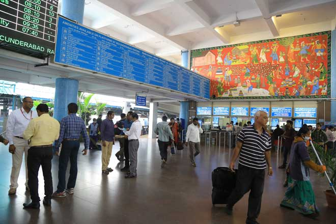 Secunderabad station bags third prize for beautification