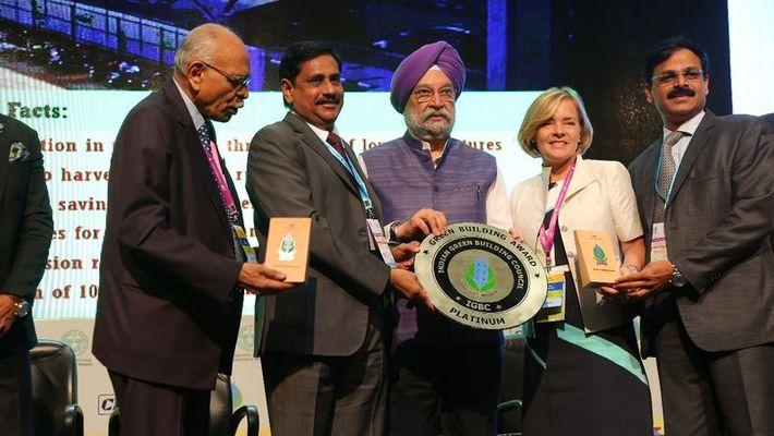 Hyderabad Metro stations get green award