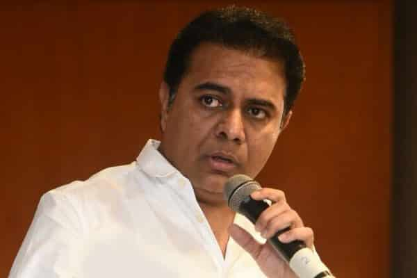 KTR challenges Modi to check power lines