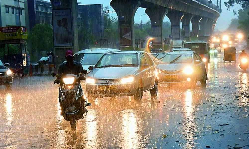 Monsoon rains lash Hyderabad