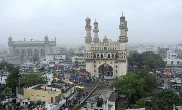 Brief spell of rain give respite to hyderabad