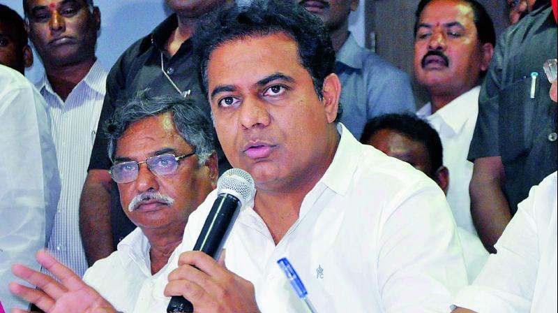 Telangana government firm to develop Karimnagar: K T Rama Rao