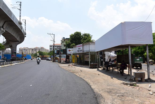 GHMC is constructing 200 new bus shelters in Hyderabad