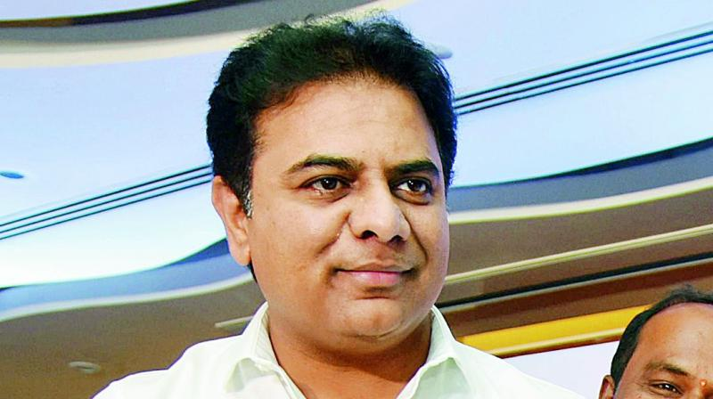 TS role model for other States: K T Rama Rao
