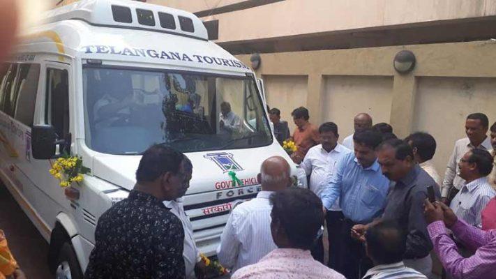 TSTDC commences AC mini bus service