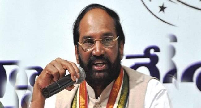 KCR is a broker: Uttam Kumar Reddy