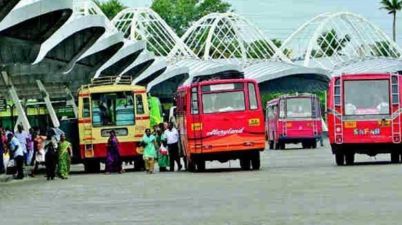 Hyderabad: Telangana RTC bus goes missing from CBS