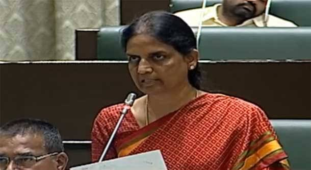 Telangana spending Rs.18,600 cr on education: Sabitha Indra Reddy