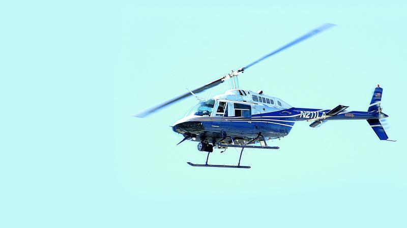helicopterridestogiveabreathtakingviewofhyderabad